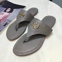 Tory Burch Women Fashion Casual Slipper Shoes