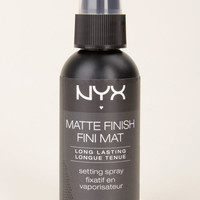 NYX Matte Finish Makeup Setting Spray