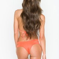 Montce Swim - Naranja Euro Bottom | Orange Bikini