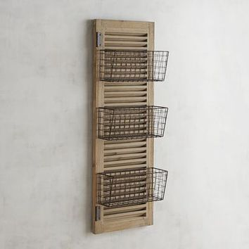Westview 3 Basket Over the Door Organizer