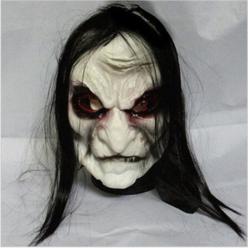 New Halloween Adult Mask Zombie Mask Latex Bloody Scary Extremely Disgusting Full Face Mask Costume Party Cosplay Prop T20