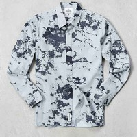 Cheap Monday Clouds Long-Sleeve Button-Down Shirt