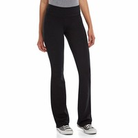 Juniors' SO® Stacked Skinny Bootcut Yoga Pants