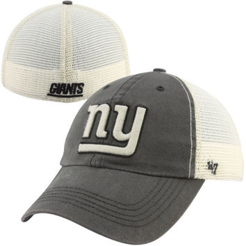47 Brand New York Giants Caprock Canyon Flex Hat - Natural/Charcoal