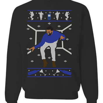 1 800 Hotline Bling Ugly Christmas Sweater Sweatshirt Design