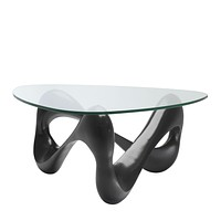 Bronze Clear Glass Coffee Table | Eichholtz Aventura