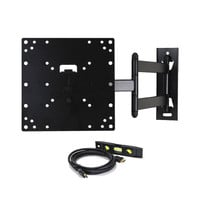TV Wall Mount Swivel Articulating Arm for 23-37in TVs or Monitors