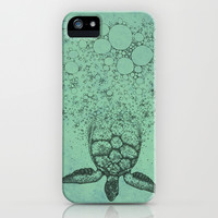 Into_The_Sea iPhone & iPod Case by Julia Kisselmann