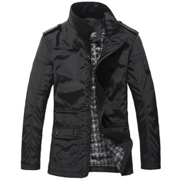 FAVOCENT brand men jacket men's coat fashion clothes hot sale autumn overcoat outwear spring winter Free shipping men jacket