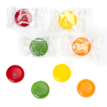 Eda's Sugar Free Sour Hard Candy Drops: 5LB Bag