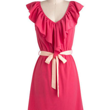 Great Minds Pink Alike Dress | Mod Retro Vintage Dresses | ModCloth.com