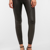 Faux Leather Mary Legging