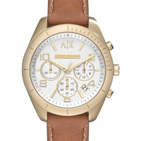 Women's Sarena Chronograph Leather Strap Watch