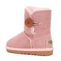 shosouvenir   UGG Girls Boys Children Baby Toddler Kids Child Fashion Casual Boots Shoes