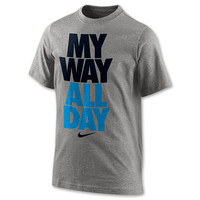 Boys' Nike My Way All Day T-Shirt