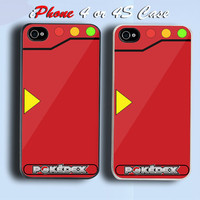 Retro Pokedex Custom iPhone 4 or 4S Case Cover