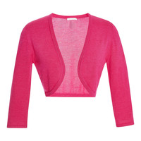 Cropped Cashmere and Silk-Blend Cardigan
