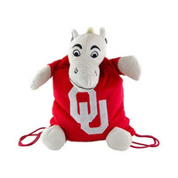 Oklahoma Sooners NCAA Plush Mascot Backpack Pal