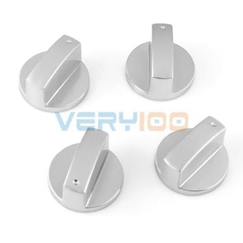 NEW Kitchen Alloy Gas Stove Cooker Oven Control Rotary Range Switch Knobs 4Pcs Free Shipping!