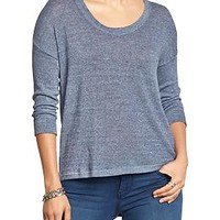 Women's Scoop-Neck Sweater-Knit Tees