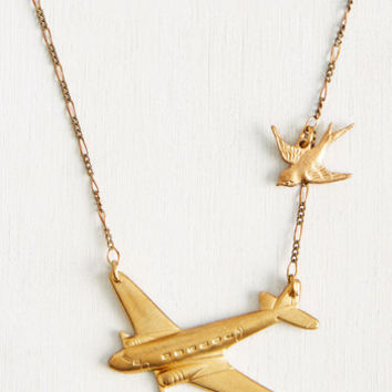Flight Club Necklace | Mod Retro Vintage Necklaces | ModCloth.com