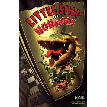 Little Shop Of Horrors 27x40 Broadway Show Poster
