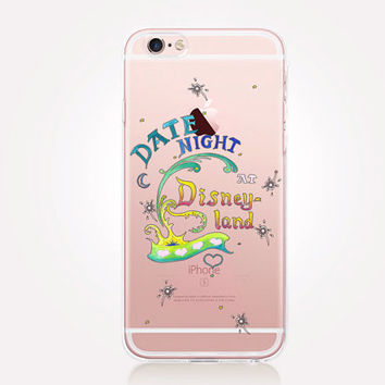 Transparent Disney Phone Case - Transparent Case - Clear Case - Transparent iPhone 6 - Transparent iPhone 5 - Transparent iPhone 4