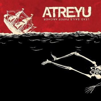 Atreyu - Lead Sails Paper Anchor [LP] (LIMITED RED & BLACK MIXED 180 Gram Audiophile Vinyl, gatefold, insert, numbered to 1500, import)