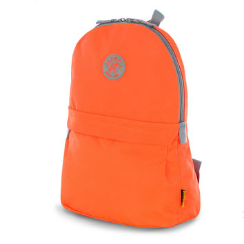 """Academy"" 17"" Eco-Friendly Backpack In Neon Orange"