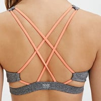 Low Impact- Crisscross-Back Sports Bra