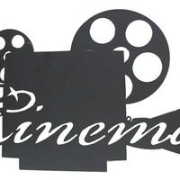 Black Cinema Projector Metal Wall Decor | Shop Hobby Lobby