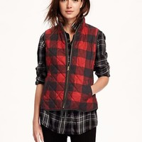 Quilted Plaid Vest for Women | Old Navy