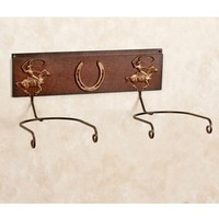 Western Double Wall Hat Rack - Sheplers