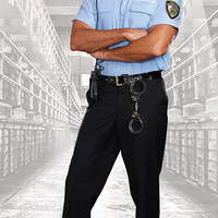Mens Prison Guard Costume