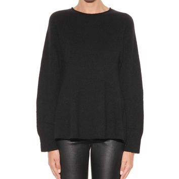Adia cashmere and silk sweater