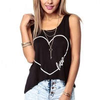Love is Key Racer Back Tank @ Cicihot Top Shirt Clothing Online Store: Dress Shirt,Sexy Womens Shirt,T Shirts,Corset Dress,White T Shirt,Girl T Shirt,Short sleeve top