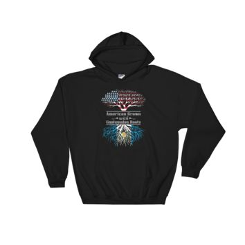 American Grown With Guatemalan Roots - Hooded Sweatshirt