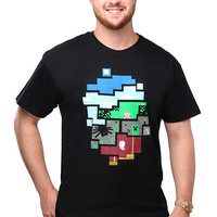 World of Minecraft T-Shirt - Black,