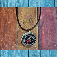 Steampunk Compass Necklace