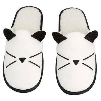 The Emily & Meritt Knit Cat Slipper