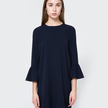 Ganni / Clark Dress in Total Eclipse