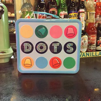 Dots Vintage Lunch Box