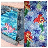 HipsterbyMadi — LIMITED EDITION The Little Mermaid Shorts