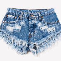 Keepers Acid Babe Cut Off Shorts