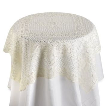 Verona Lace Square Table Topper