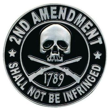 2ND Amendment Shall Not Be Infringed 1789 3D Pin