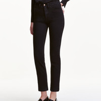 H&M Straight Cropped High Jeans $9.99