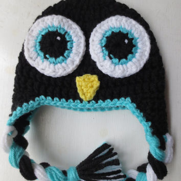 CROCHET PATTERN Penguin Hat, Penguin Hat, Newborn Penguin Hat, Baby Penguin Hat, Adult Penguin Hat, Crochet Hat Pattern, Kids Penguin Hat