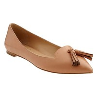 Banana Republic Womens Anika Italian Leather Flat