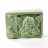 Angel Silicone Soap Mold